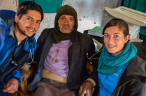 Johanna und Bishnu im Health Post