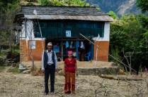 Zwei stolze Dorfbewohner