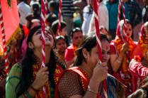Prozession auf dem Durbar Square, Kathmandu