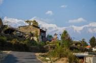 Auf dem Weg nach Sarankot View Point, Pokhara