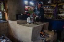 Tibetanische Küche in Kyanjin Gompa, 3.850m