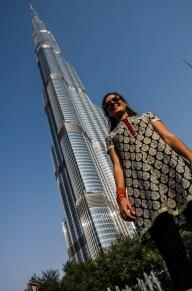 Burj Khalifa, mit 829,8m (noch) das höchste Gebäude der Welt