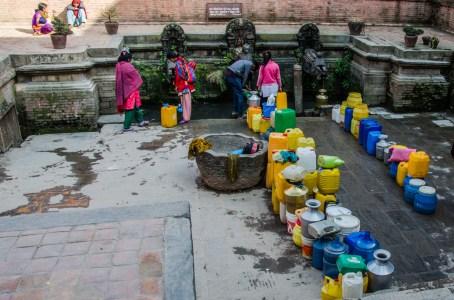 Hauptstadt-Wasserstelle