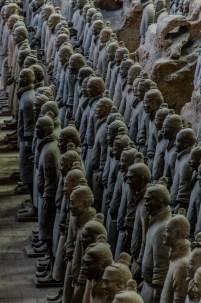 Die Beschützer für Qin Shihuangdis nach seinem Tod