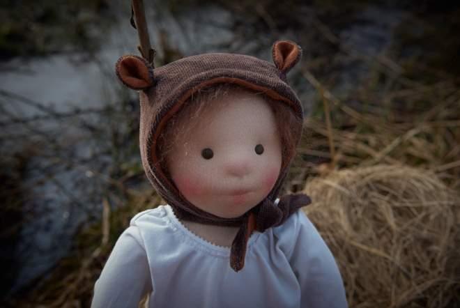 Ursa, a handmade clothdoll by Atelier Björkåsa