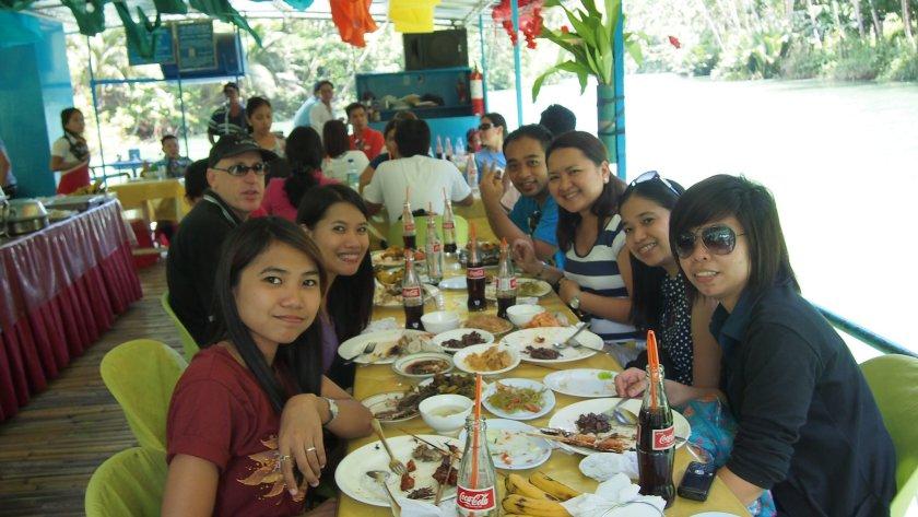 Bohol Loboc River Lunch
