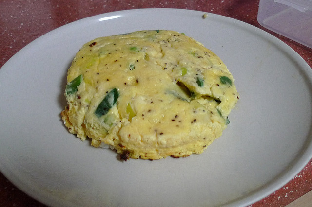Fritata Cooked