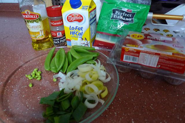Fritata Ingredients