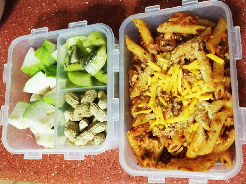 Project Lunchbox-Pasta