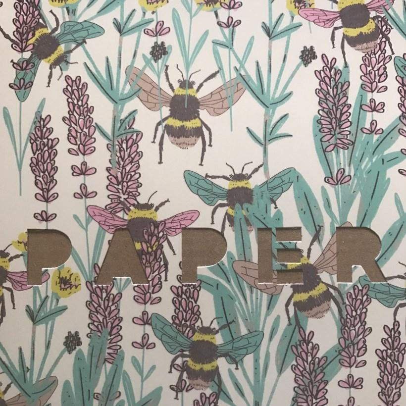 bumblebees papergang stationery subscription box