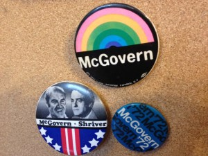 McGovern buttons
