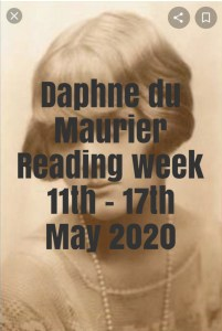 Announcement: Daphne du Maurier Reading Week May 11-17, 2020