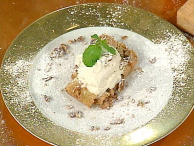 This cranberry bread pudding from Emeril is perfect for the holiday season.