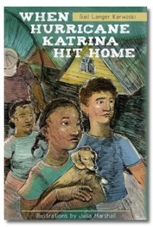 New page turning young folks book, When Hurricane Katrina Hit Home, a winner
