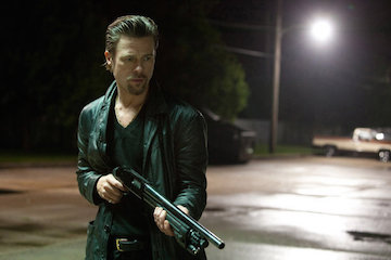 Brad Pitt in Killing Them Softly, filmed in New Orleans 2012