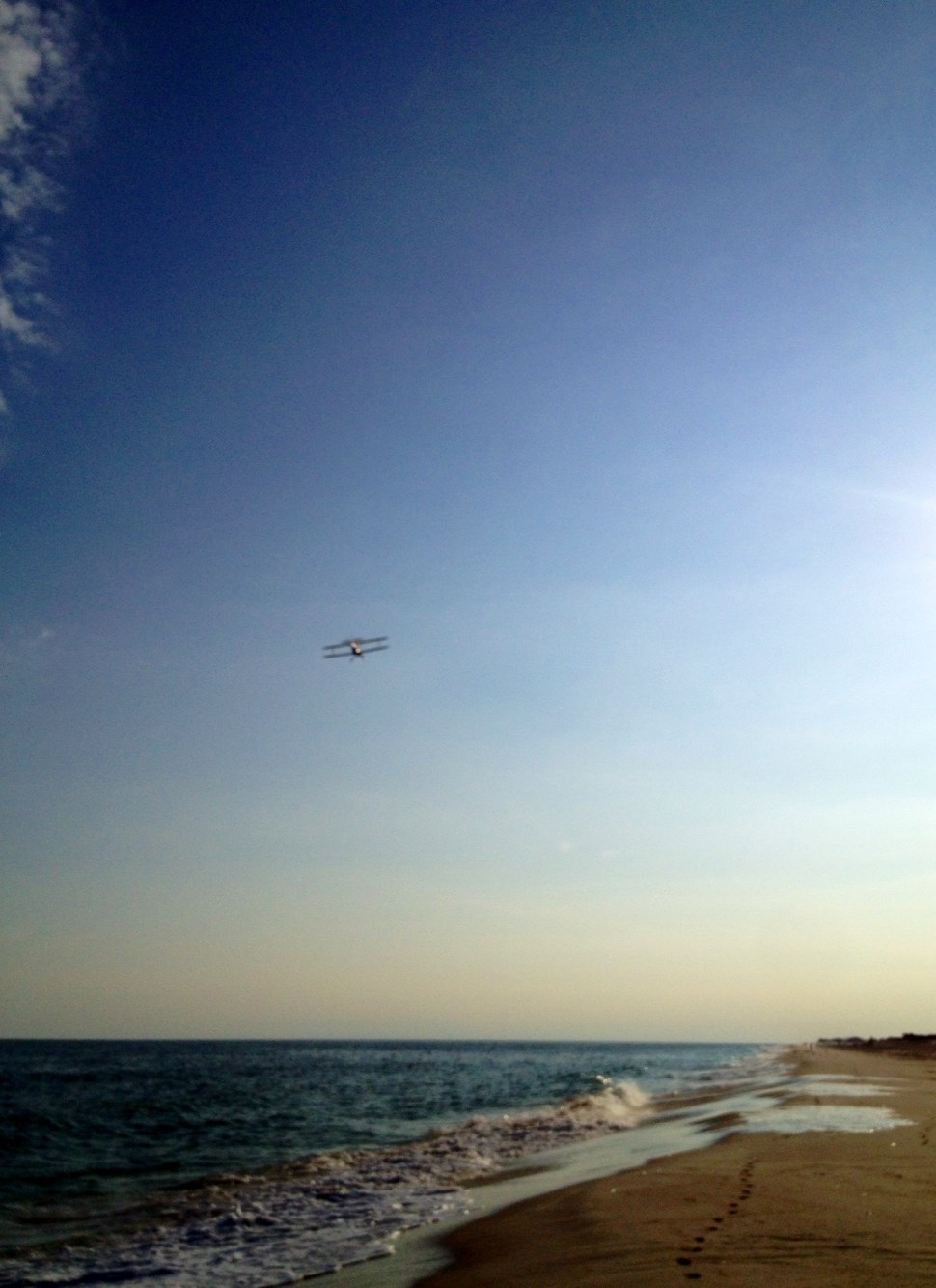 The Atlantic Ocean from Cherry Grove, Fire Island. Photo by Rick Stachura. August 20, 2014