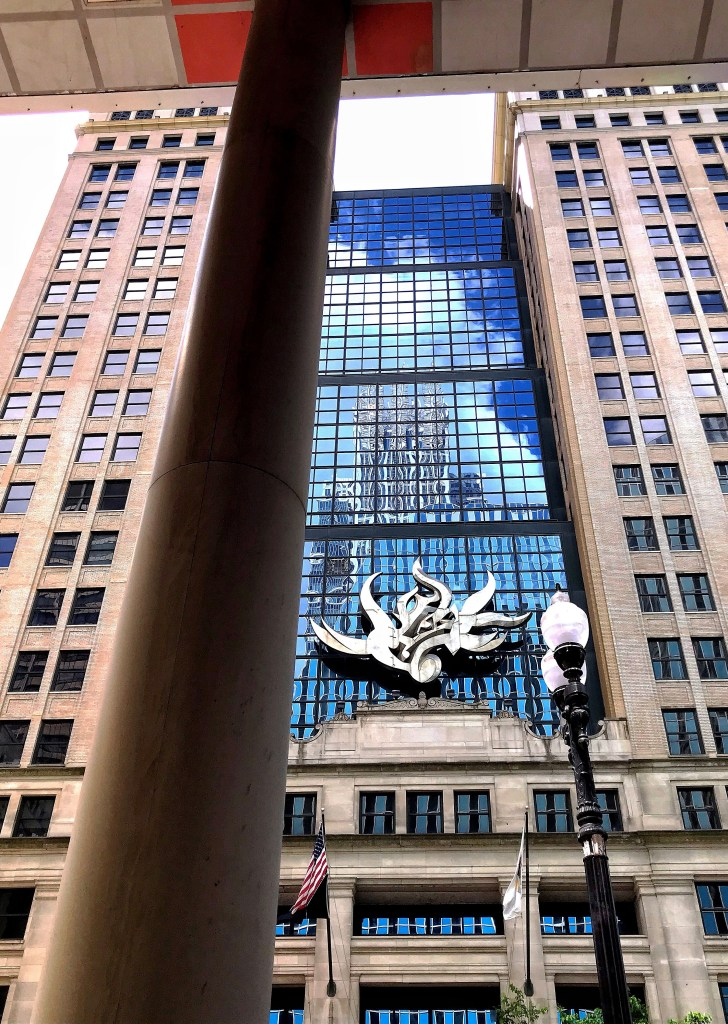 The Michael A. Bilandic Building at 160 North LaSalle Street. Photo by Rick Stachura. May 25, 2019.