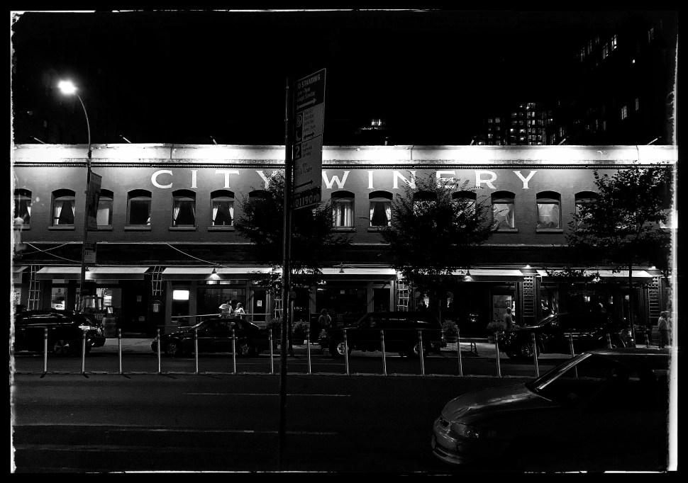 The original City Winery at 155 Varick Street. Photo by Rick Stachura. July 30, 2019.