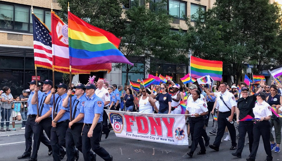 NYC Pride March. Photo by Rick Stachura. June 30, 2019.