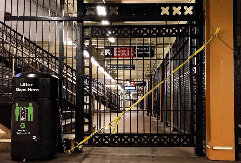 City Hall Subway Station. Photo by Rick Stachura. February 11, 2020.