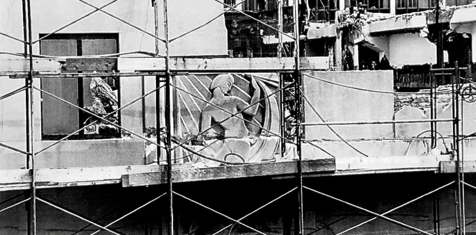 Before demolition. Photo by Nathan Kernan. Courtesy of the New York Times. June 6, 1980.