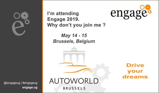 Engage 2019 Attendee