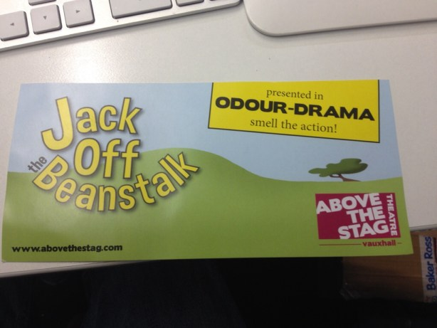 Jack Off the Beanstalk odour-drama