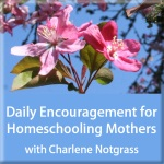 Daily Encouragement for Homeschooling Mothers