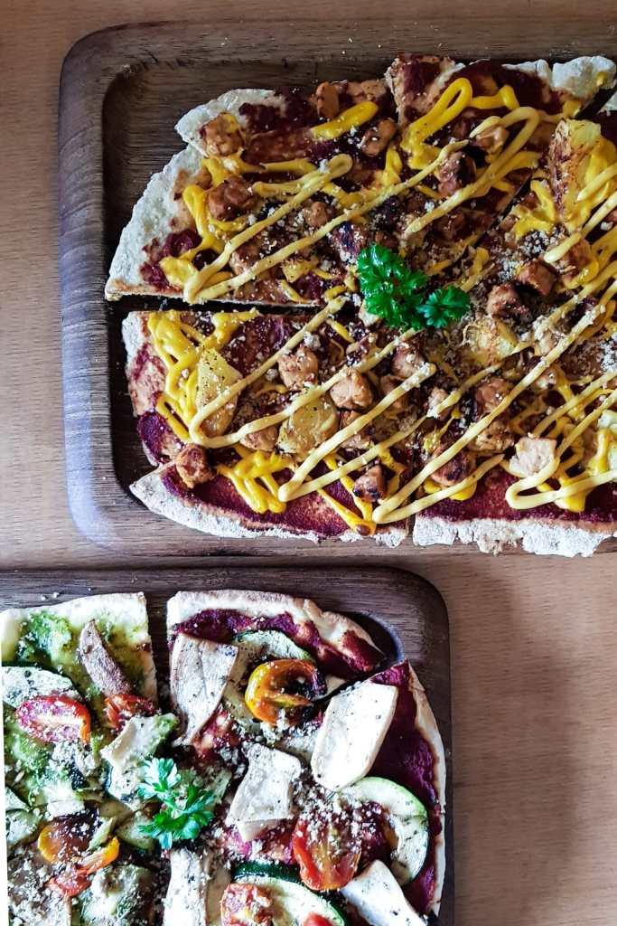 vegan pizza in penang
