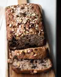 choc chunk banana bread
