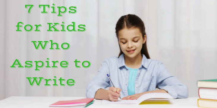 Writing Tips for Kids