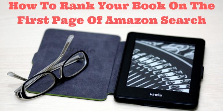amazon book ranking tips