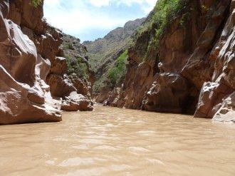 Muddy Water at Secret Canyon