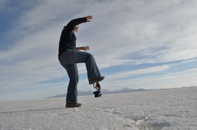 Salt Flats Eva Squishing Dennis