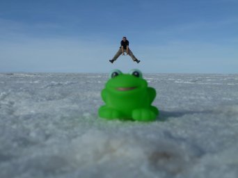 Salt Flats Leap Frog
