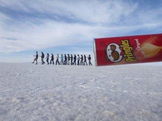 Salt Flats Pringles Can