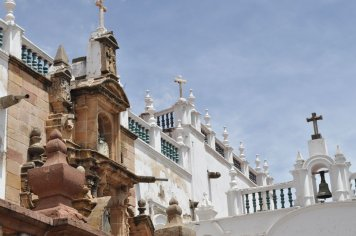 Sucre buildings with a Spanish feel