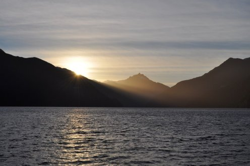 Doubtful Sound Sunset