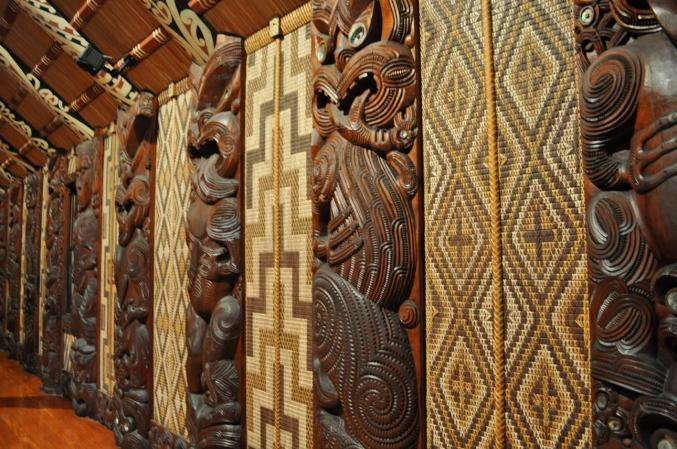 Waitangi Treaty House decoration