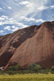Ayres rock is pretty big