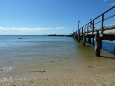 Fraser island, kingfisher bay jetty