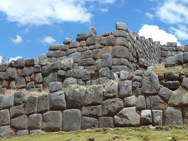 Inca ruin Sacsayhuaman (pronounced sexy woman)