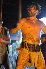 Mitai performing the Haka