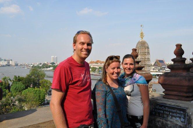 On top of Wat Arun