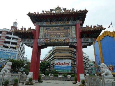 Gate at start of China town