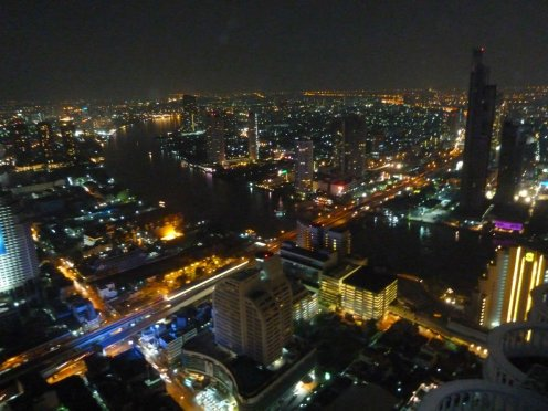 Amazing views of Bangkok from the Sky Bar