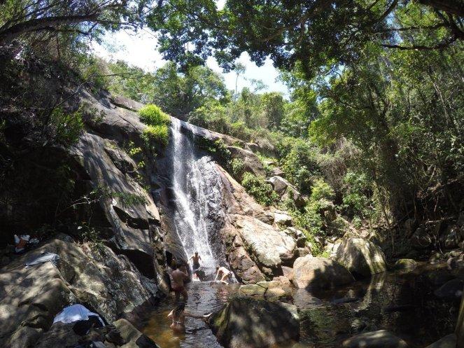 Feiticeira waterfall