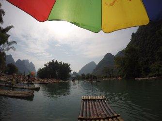 Yulong River Bamboo Rafting