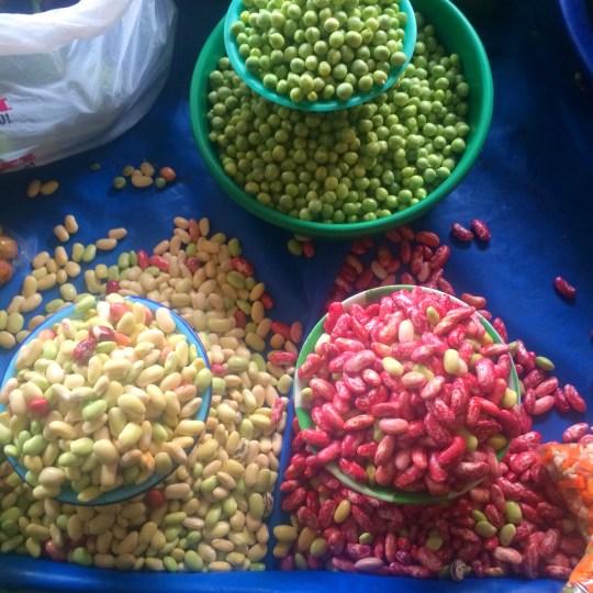 Beans Otavalo Market