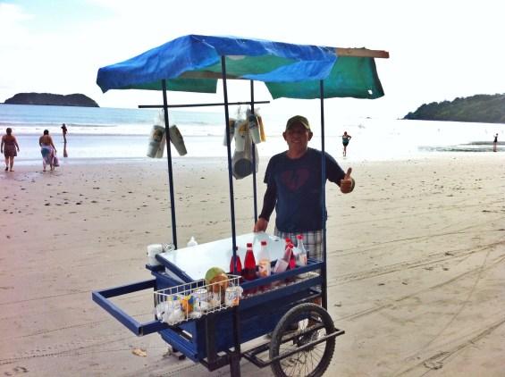 Costa Rica Street Food Beach Snack